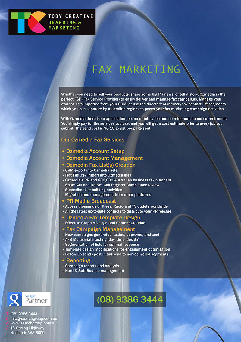 Search Group – Perth Fax Marketing OzMedia Fax Marketing Services